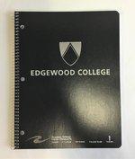 Edgewood One Subject Notebook