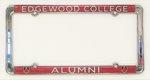 Edgewood Alumni License Plate Frame