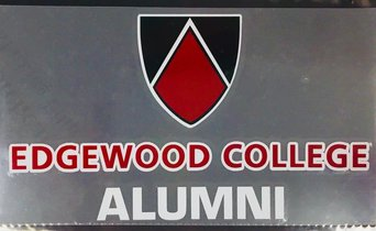 Edgewood Alumni Decal