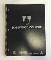 Edgewood One Subject Notebook