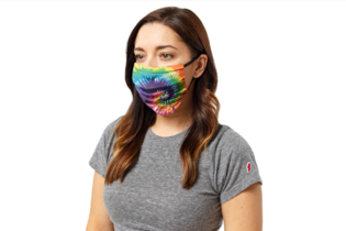 League Tie Dyed Mask